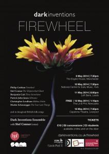 Firewheel Tour Poster