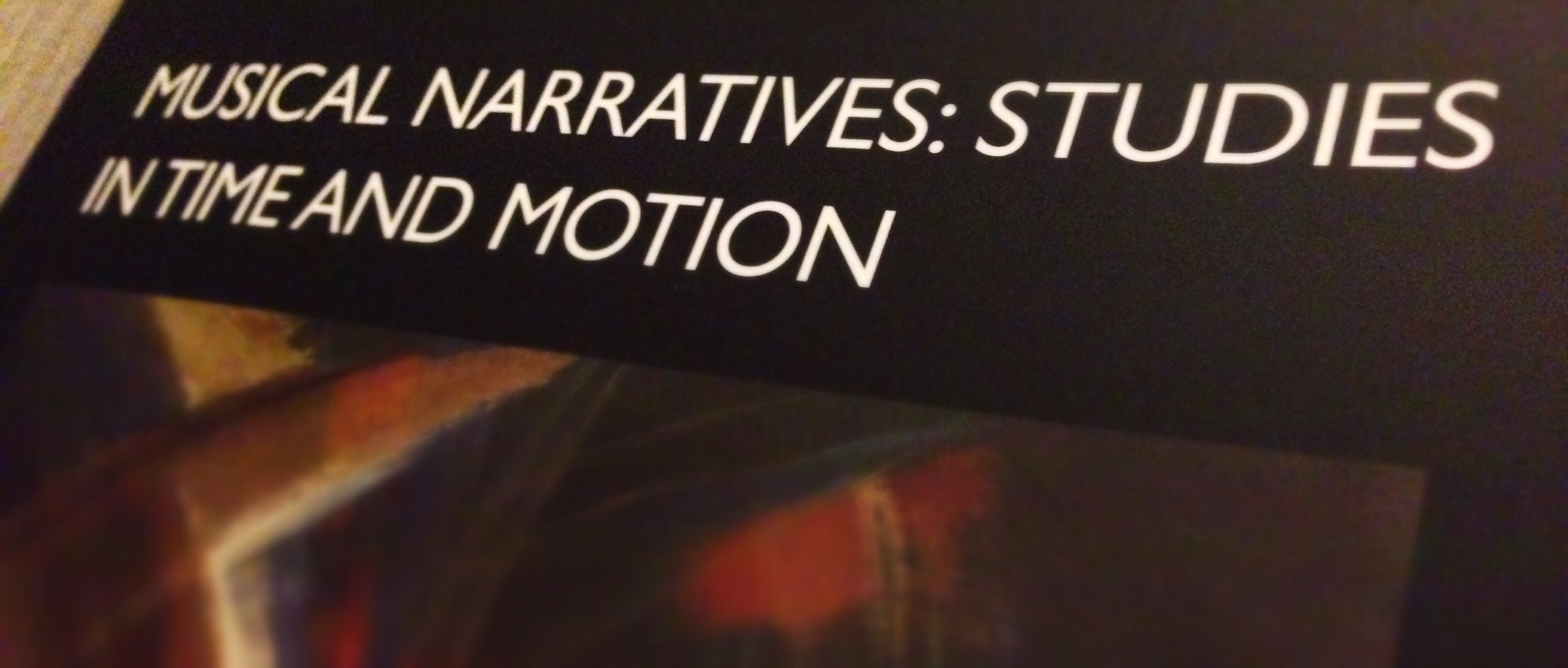 New publication in Contemporary Music Review