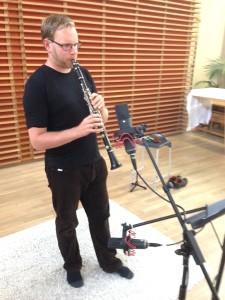 Jonathan Sage recording